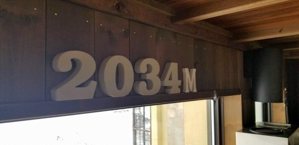 標高2034mの奇跡のホテル