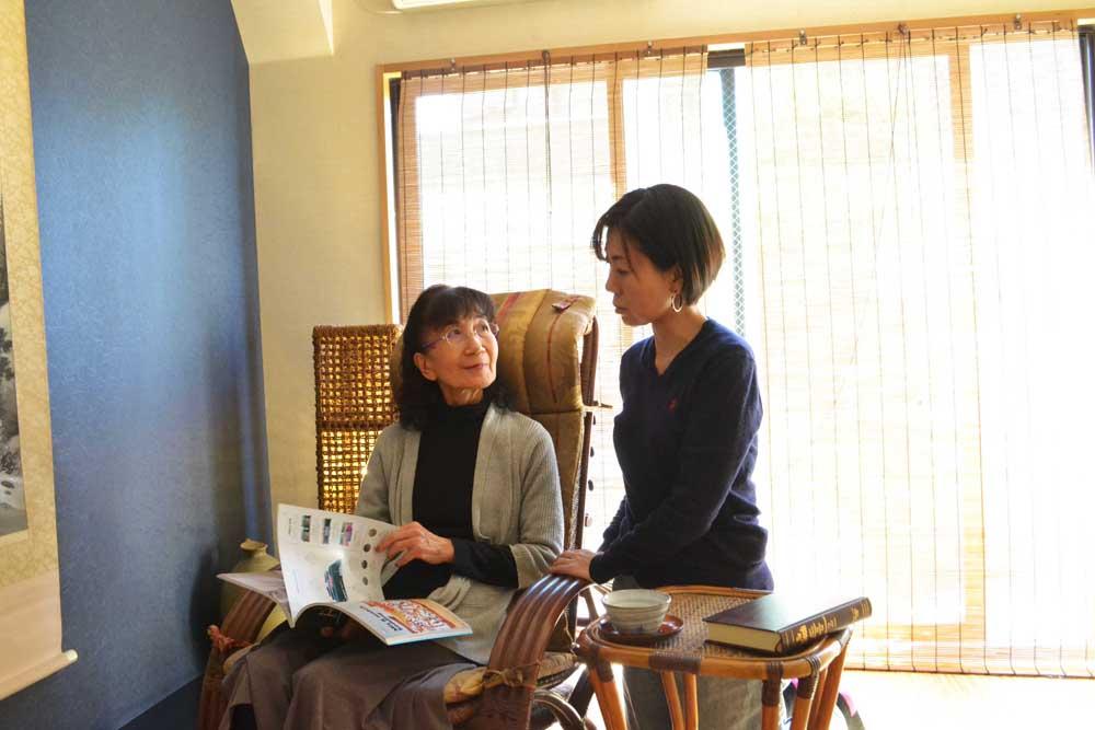 母の日と籐家具