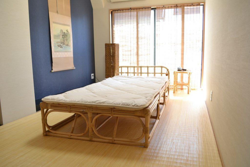 布団を直接敷いて使えるベッド
