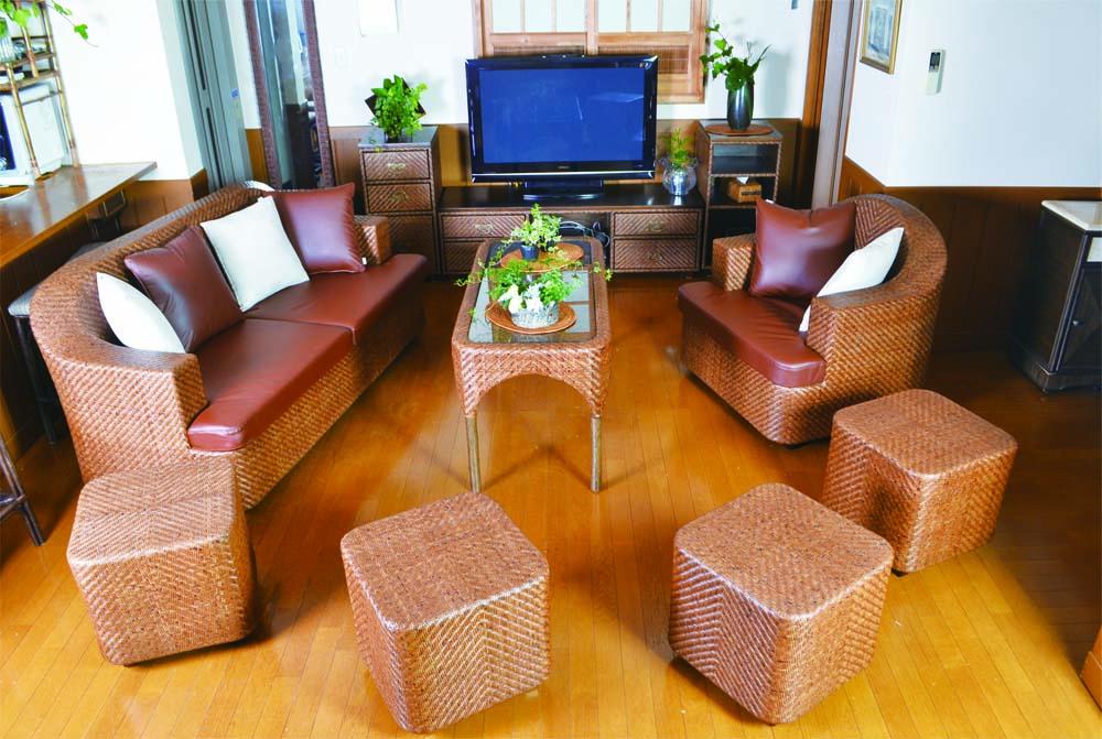 自然素材が優しいラタン家具