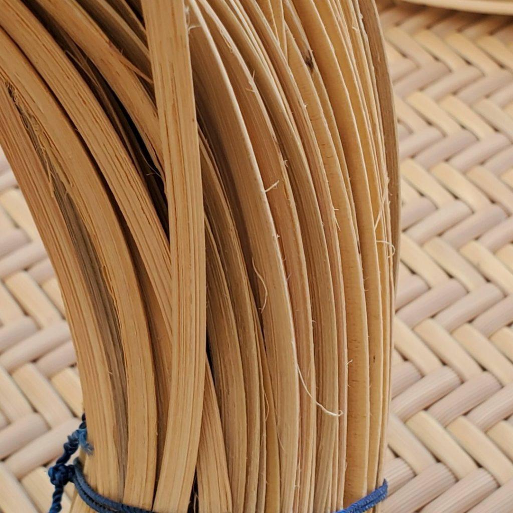 籐素材・材料商品の注意(毛羽だち)